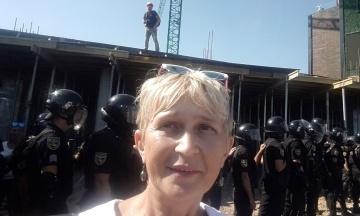 Одеська активістка отримує погрози після антизабудовних акцій у місті
