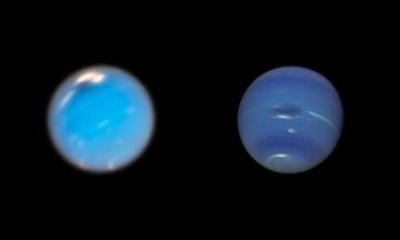 Телескоп «Хаббл» зафіксував народження гігантського шторму на Нептуні