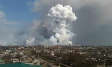 СБУ до сих пор расследует диверсии на складах в Ичне, Калиновке и Балаклее. Подозрений никому не вручили