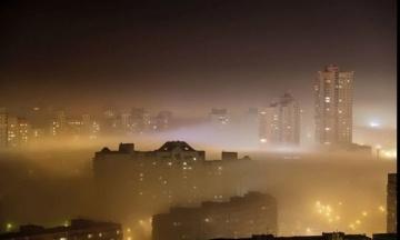 ДСНС: в центрі Києва повітря забруднене діоксидом азоту та формальдегідом. Концентрація в 7 разів більше норми.