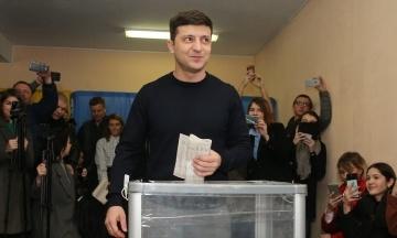 Кандидат у президенти Зеленський проголосував у Києві