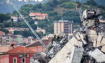 Independent: Правляча партія в Італії називала «казкою» попередження про те, що міст в Генуї може впасти