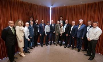 Зеленський провів зустріч з банкірами. Говорили про незалежність НБУ, МВФ і ставки за кредитами