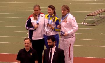 Українська легкоатлетка з порушенням слуху стала чемпіонкою світу у штовханні ядра