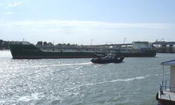 Російське судно «Механік Погодін» заблокували в Херсоні на три роки