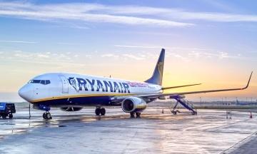 Ryanair почне літати з України 3 вересня. Перший рейс — у Берлін