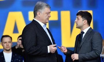 Опрос: Зеленский и Порошенко — наиболее узнаваемые украинские политики