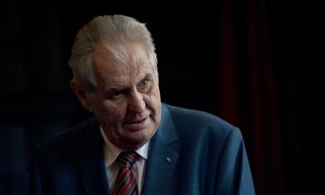 Президенту Чехії Земану загрожує звинувачення в держзраді через слова про вибухи у Врбетіце