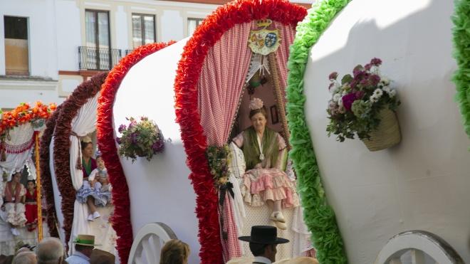 Паломничество в Эль Росио к образу Девы Марии: веселье, алкоголь и проститутки