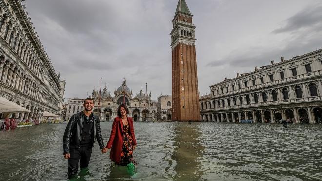 Венеція переживає найсильніший потоп за майже 40 років. Місто на 75% пішло під воду