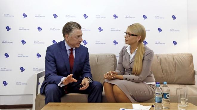 Американські лобісти допомогли Тимошенко зустрітися із впливовими політиками США. Розрахувалися за послуги невідомі офшори