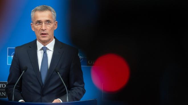 Зеленський попросив генсека НАТО порушити на саміті Альянсу питання російської агресії на Донбасі