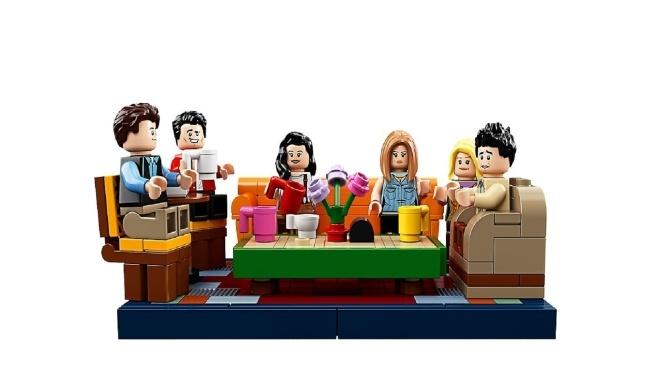 Конструктор за мотивами Friends: LEGO випустить набір до 25-річчя серіалу