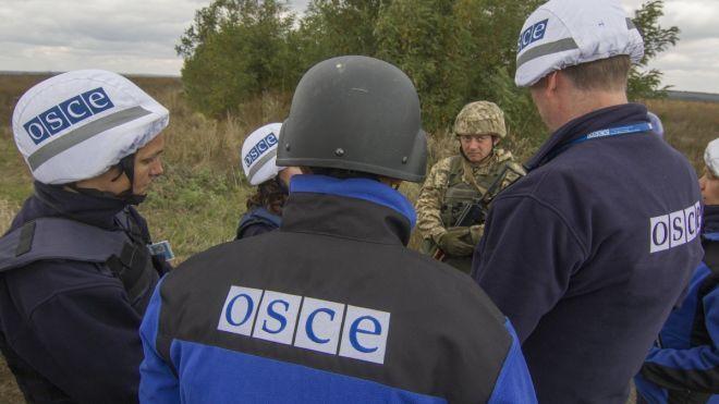 ОБСЕ зафиксировала в «ЛДНР» тяжелую технику и опровергла обвинения в адрес ЗСУ в обстрелах