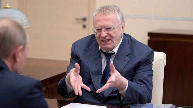 СБУ викликала на допит лідера ЛДПР Жириновського. Його звинувачують у фінансуванні тероризму