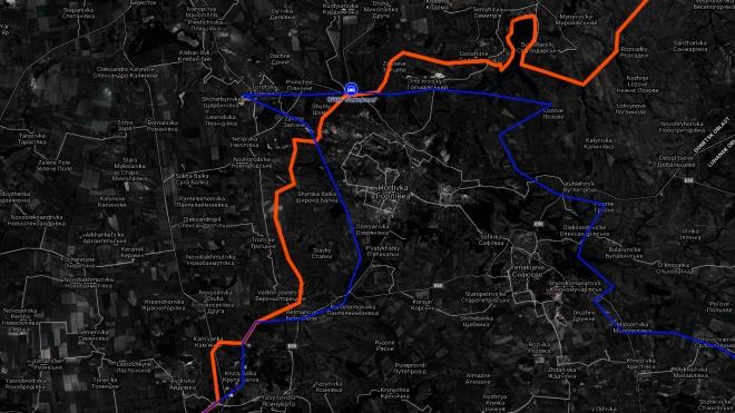 Президент Порошенко затвердив межі окупованої частини Донбасу. Ось як тепер виглядає лінія розмежування на карті