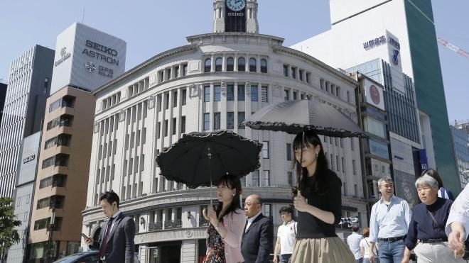 У Японії понад 2 тисячі людей постраждали від теплового удару