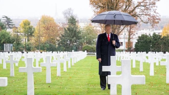 Трампа розкритикували за відмову вшанувати пам'ять американців у дощ