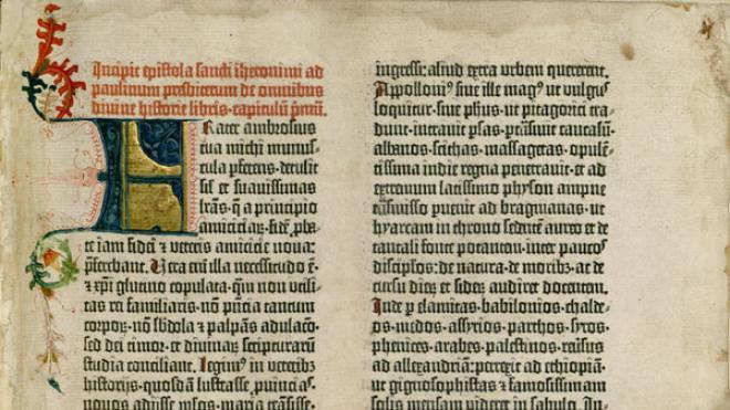 Медведчук задекларировал фрагмент Библии Гутенберга. Ученые надеются, что он покажет хотя бы фото