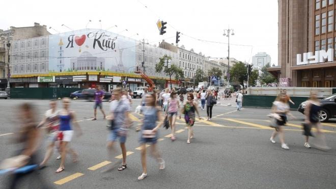 Сгоревший Центральный гастроном на Крещатике реставрируют, превратив в торговый комплекс