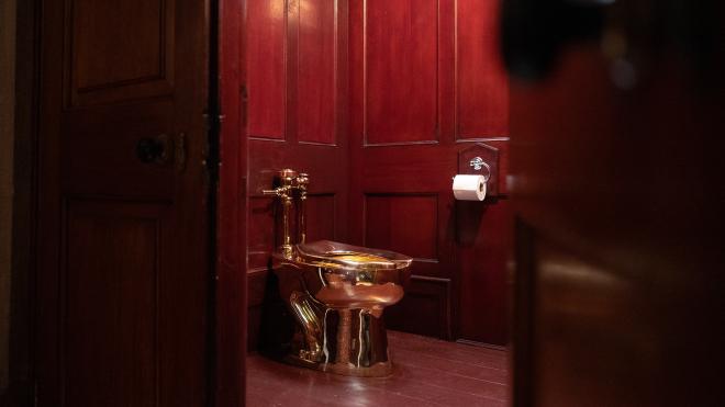 У Лондоні з особняка Вінстона Черчилля вкрали золотий унітаз
