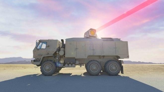 Для американських військ розробляють 100-кіловатний бойовий лазер. Він призначений для армійських вантажівок FMTV