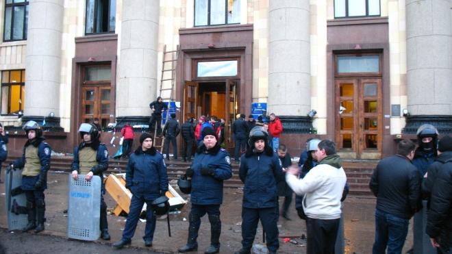 У Харкові суд відпустив учасників масових заворушень, які захопили ОДА в 2014 році