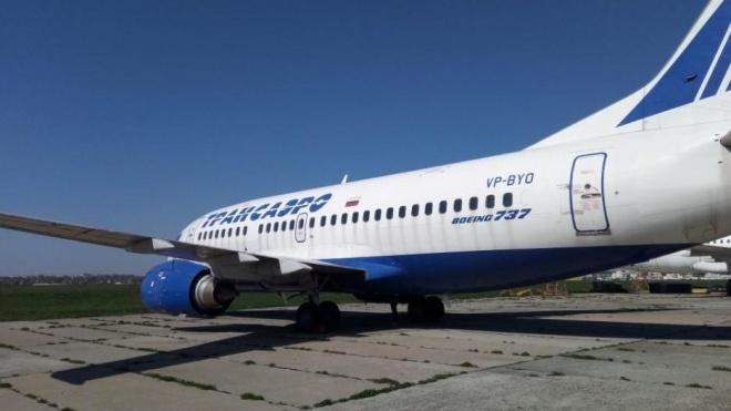 В Киеве выставили на аукцион арестованный за долги российский Boeing. Его стартовую цену снизили почти вдвое