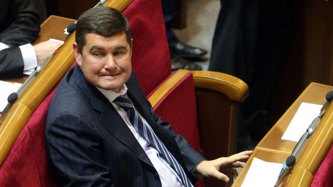 DW: Нардепу Онищенко отказали в визе, и он не может работать в Германии. Онищенко говорит, что это неправда, и показал документ