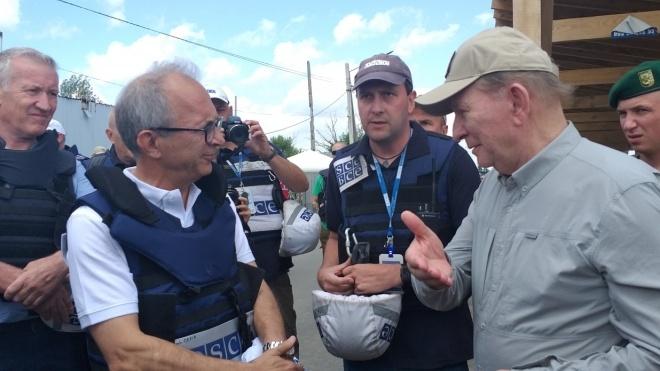 Миссия ОБСЕ подтвердила разведение сил в Станице Луганской