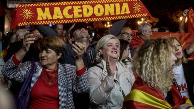 Парламент Македонии утвердил новое название страны