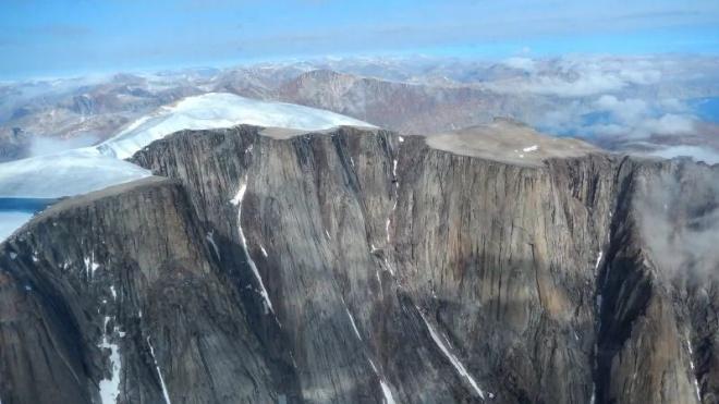 Льодовик відступив у канадській Арктиці, оголивши стародавні рослини