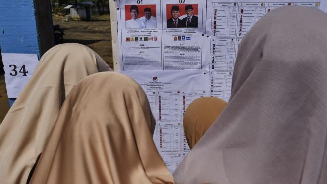 В Индонезии проходят самые масштабные для страны выборы. 193 млн граждан избирают президента и законодателей
