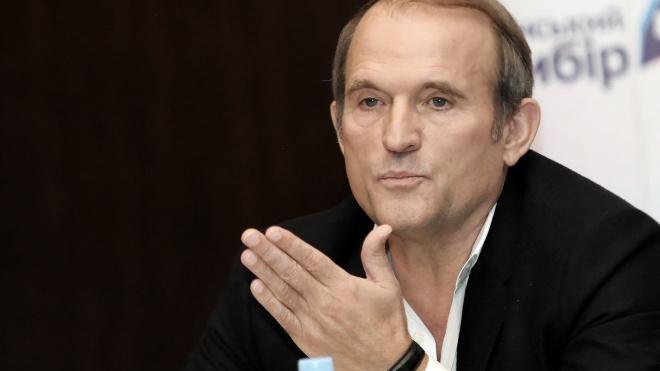 Медведчук прибыл на рассмотрение апелляции и заверил, что не передавал спецслужбам РФ секретную информацию о ВСУ