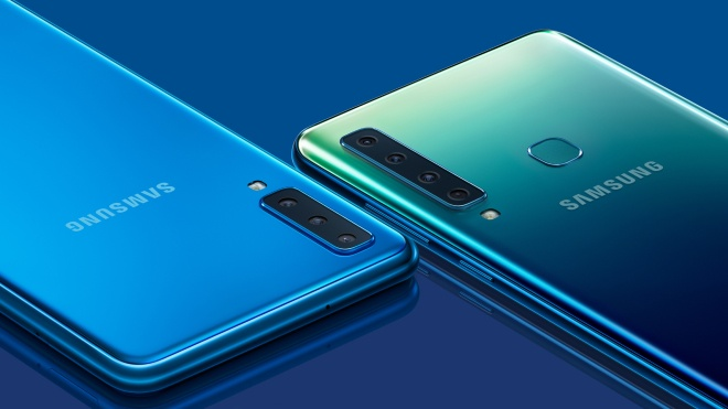 Samsung представив новий Galaxy A9 з чотирма камерами, розташованими одна за одною
