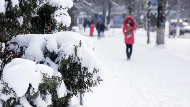 До 15 см снега. Спасатели предупредили о сильных осадках в восьми областях