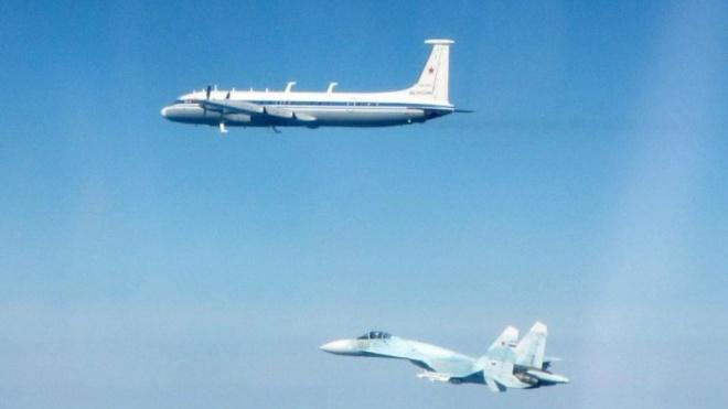 Над Эстонией британские истребители дважды перехватывали российские Ил-22 и Су-27
