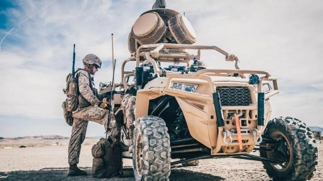 Корпус морской пехоты США тестирует мобильную лазерную установку CLaWS. Она предназначена для борьбы с дронами