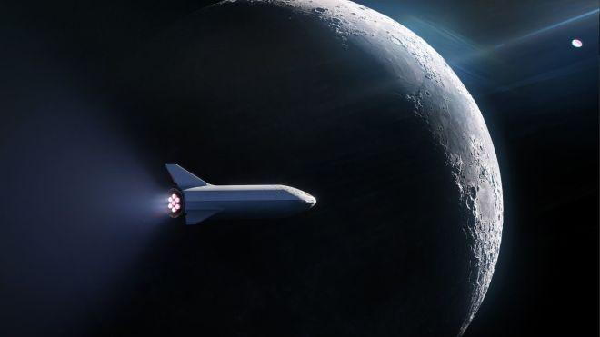 Японский космический турист собирается взять с собой на Луну девушку и шесть людей искусства