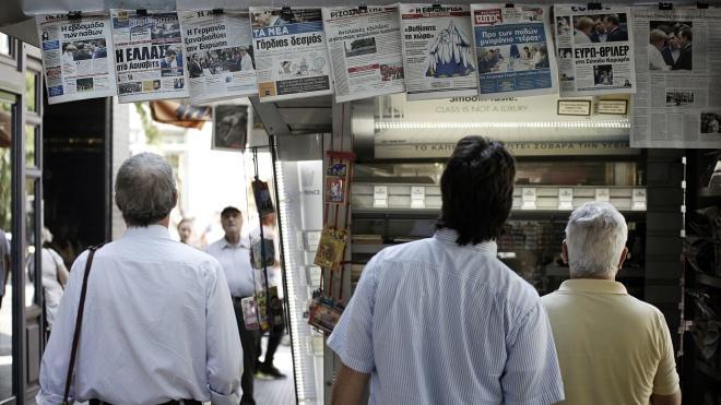 Без телевидения и газет. В Греции СМИ объявили 24-часовую забастовку