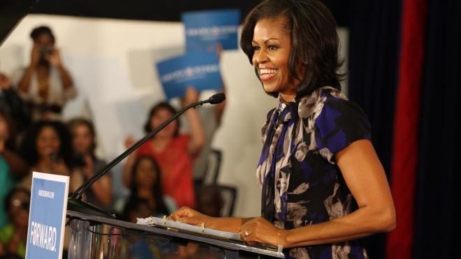 «Я могла бы сказать». Мишель Обама посмеялась над количеством людей на инаугурации Трампа