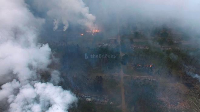 Пожар на арсенале под Ичней ликвидировали. Восстановлено движение автомобилей и поездов