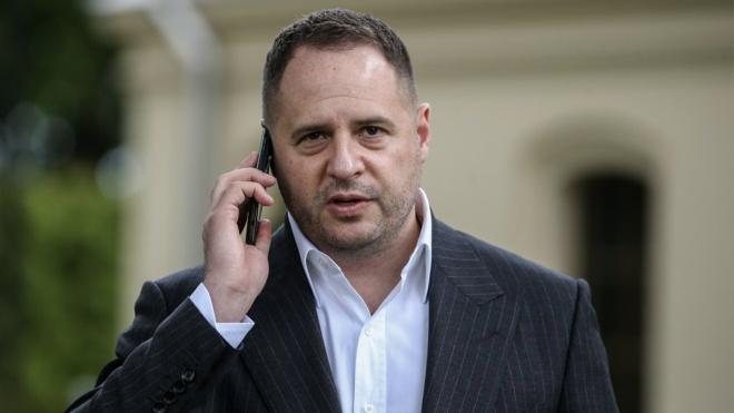 Глава ОП Ермак опроверг информацию о выходе России из переговоров по Донбассу на уровне советников