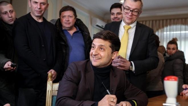 Букмекери bwin вперше вивели Зеленського в лідери президентських виборів. Порошенко і Тимошенко йдуть слідом