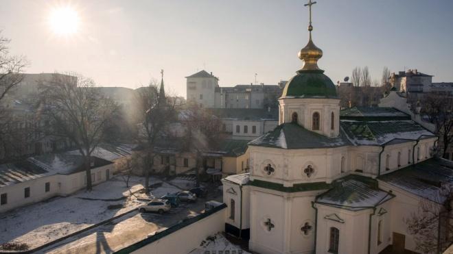 Томос про автокефалію ПЦУ виставлять на території Софії Київської