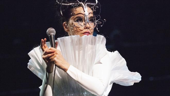 Певица Бьорк переиздаст девять альбомов на цветных кассетах