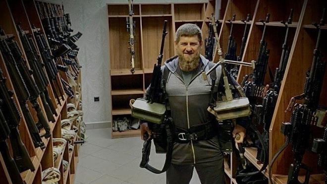 Путін присвоїв Кадирову військове звання генерал-майора