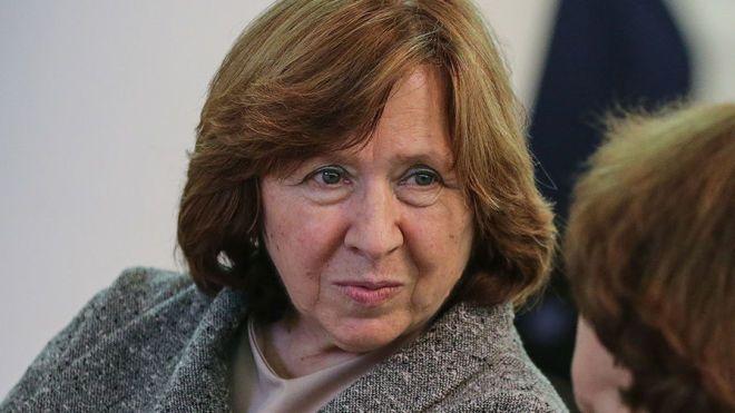 В Одессе отменили творческий вечер нобелевского лауреата по литературе Алексиевич из-за угроз радикалов