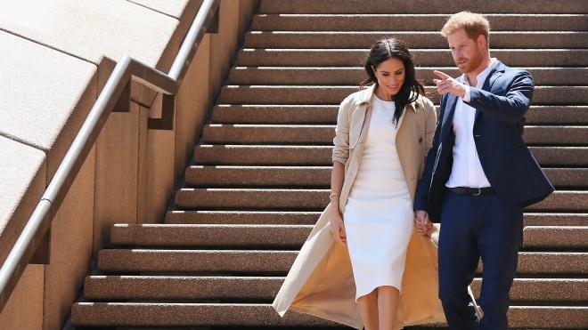 Принц Гаррі та Меган Маркл чекають на дитину