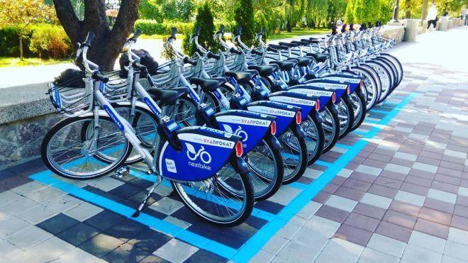 В Киеве запустили систему общественного велопроката Bike sharing